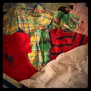 Polo Ralph Lauren Button-Down and T-Shirts